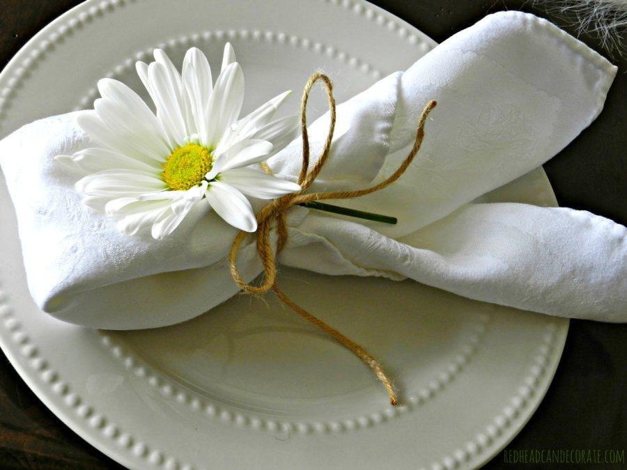 daisy easter table 2