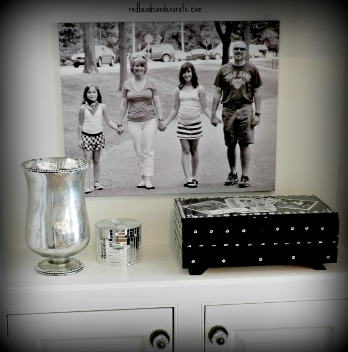 Small Family Wedding Ideas: Family Canvas Print & Our 20th Wedding Anniversary