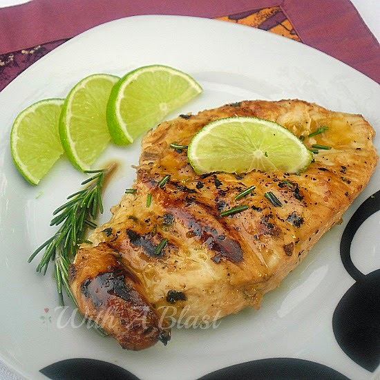 Rosemary Lime Grilled Chicken
