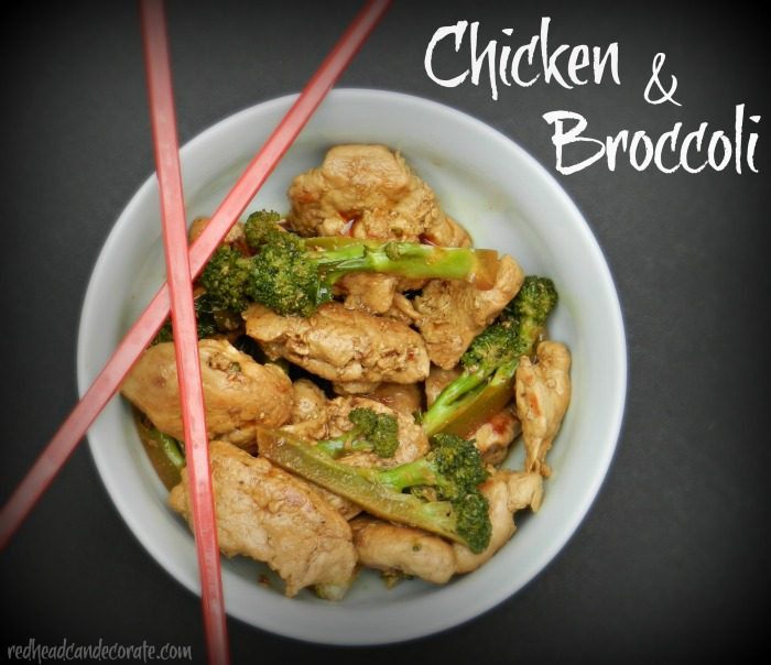 Chicken and Broccoli Recipe