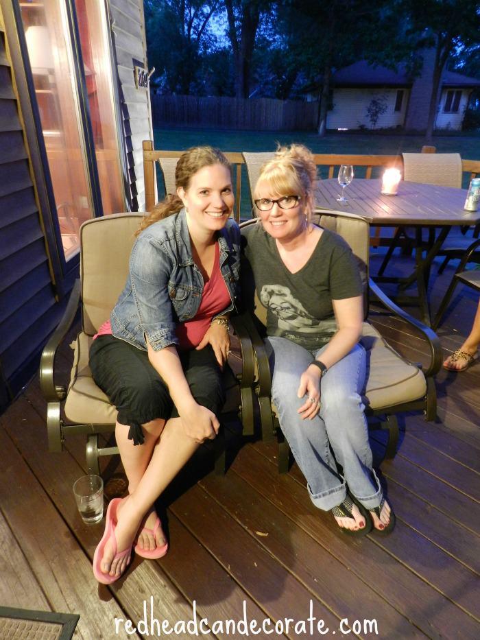Jessica Decor Adventures & Julie redheadcandecorate.com