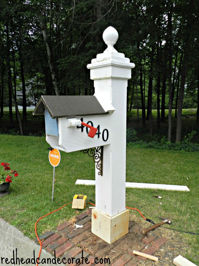 Mailbox Unfinished