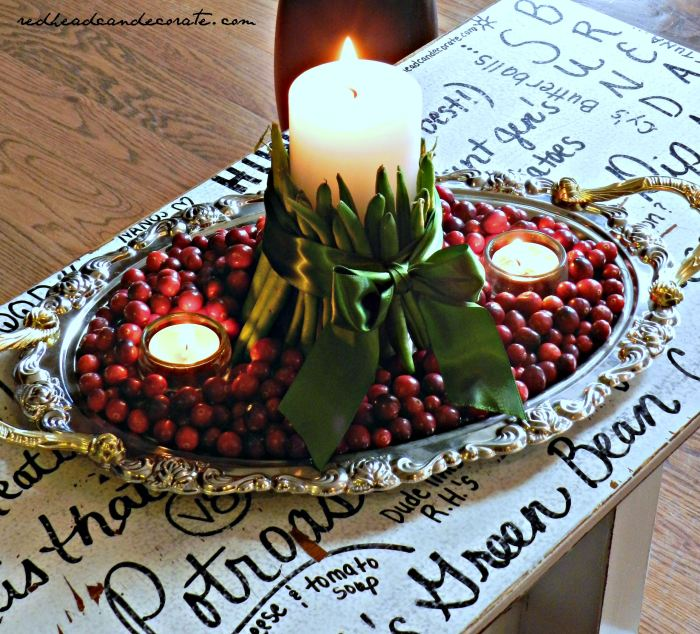 Green Bean Candle (5 minutes to make!)