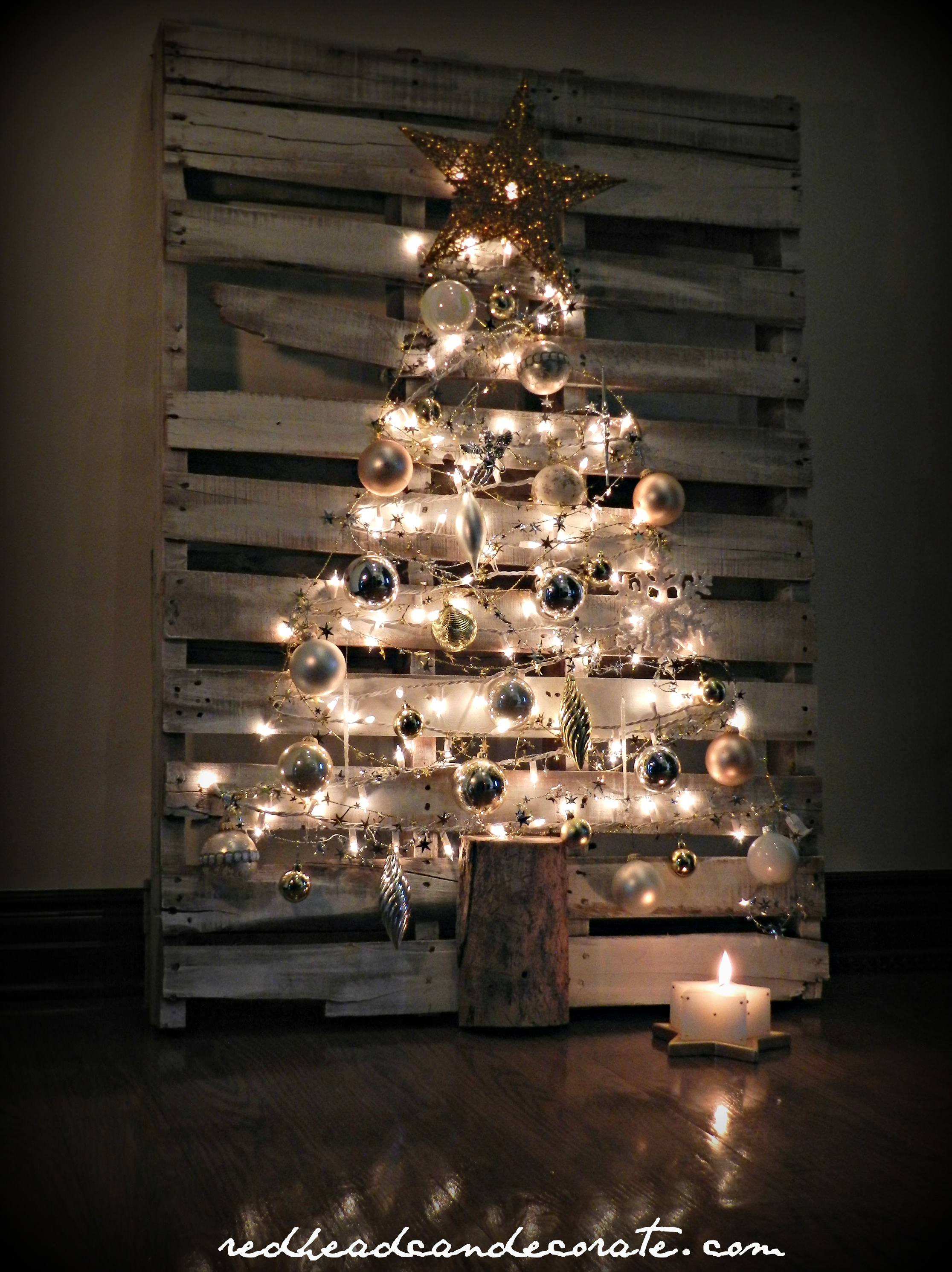 diy pallet christmas tree w easy steps and no wood removal - Christmas Tree Removal
