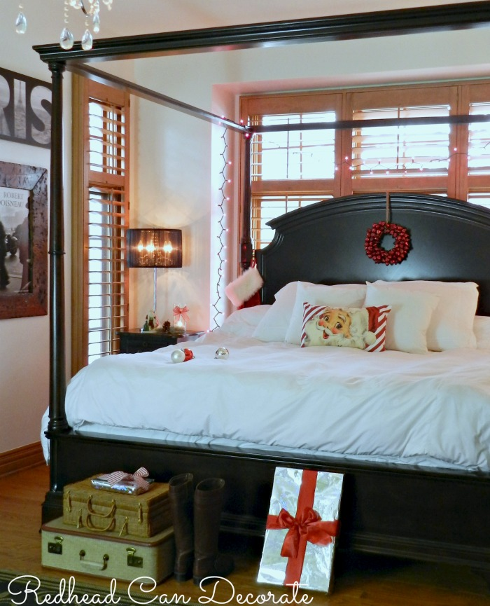 Christmas Bedroom by Redhead Can Decorate