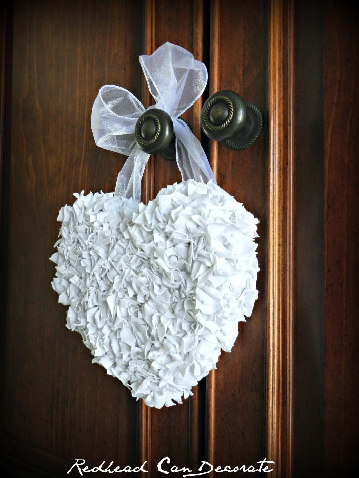 Easy Heart Wreath