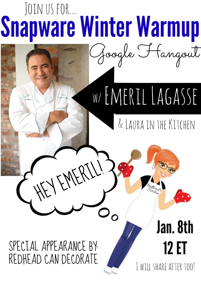 Emeril Lagasse & Redhead