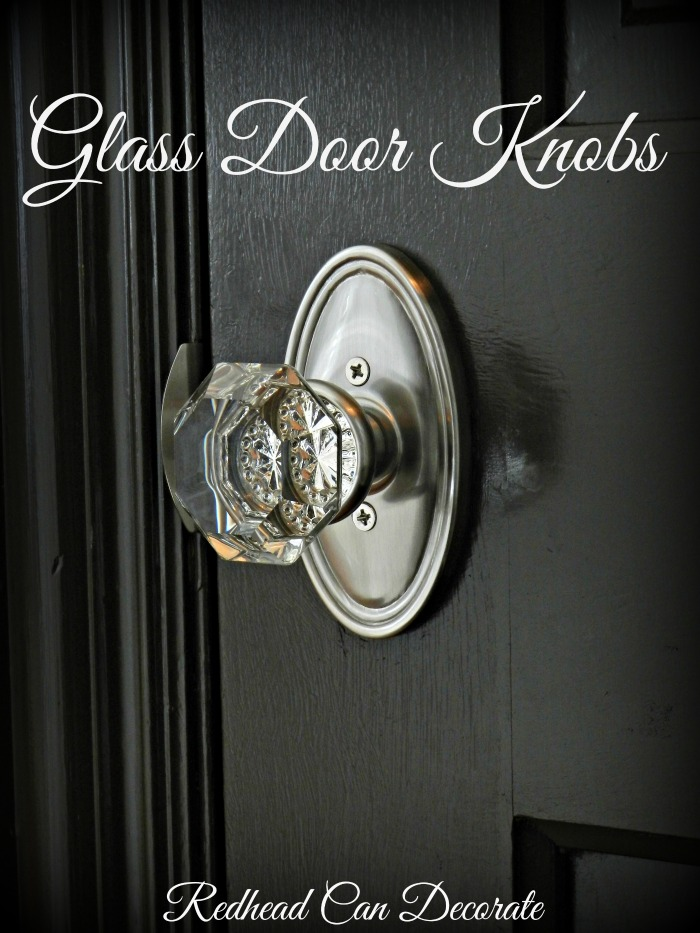 Install Glass Door Knobs