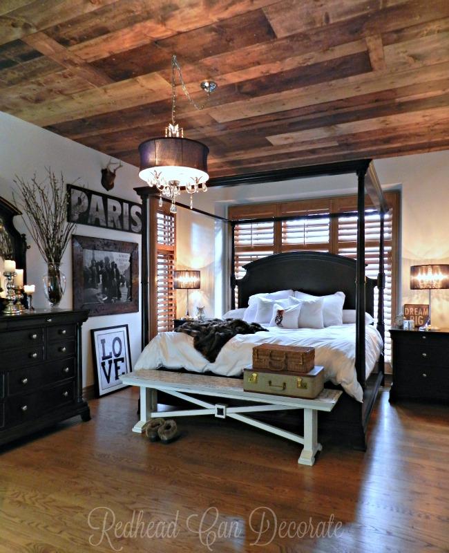 wood-planked-ceiling-master-bedroom
