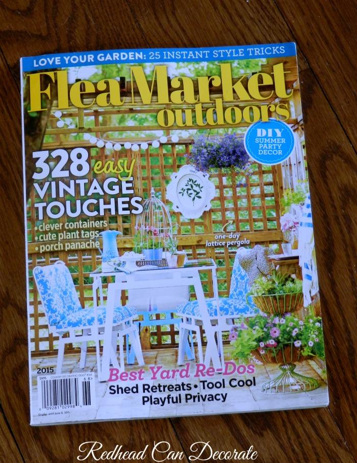 Flea Market Magazine Feature