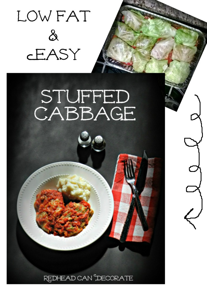 Stuffed Cabbage Recipe (Pigs in the Blanket)