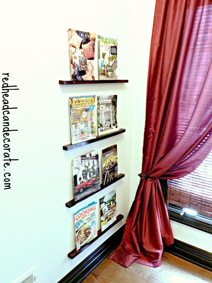 Very Easy Magazine Rack Idea