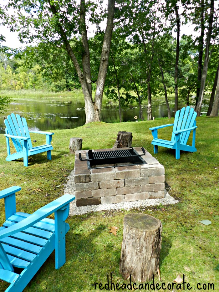 Easiest DIY Fire Pit You Will Ever Fine