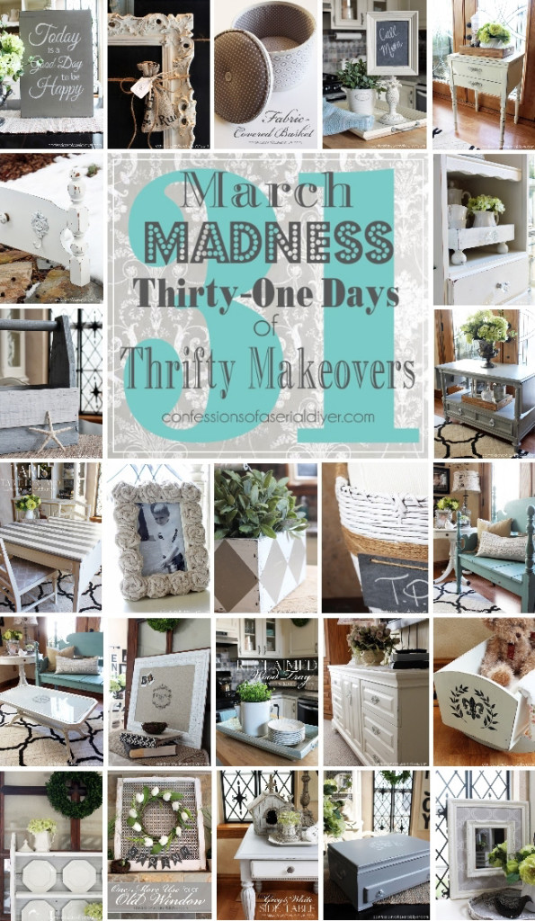 March Madness, 31 Thrifty Makeovers in 31 Days!