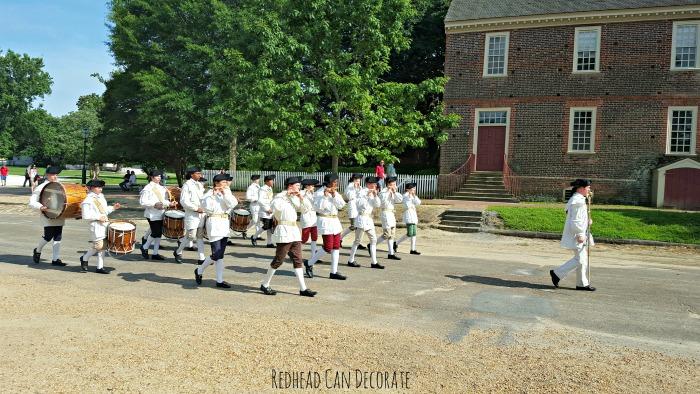 Drum & Fife Band in Williamsburg Virginia