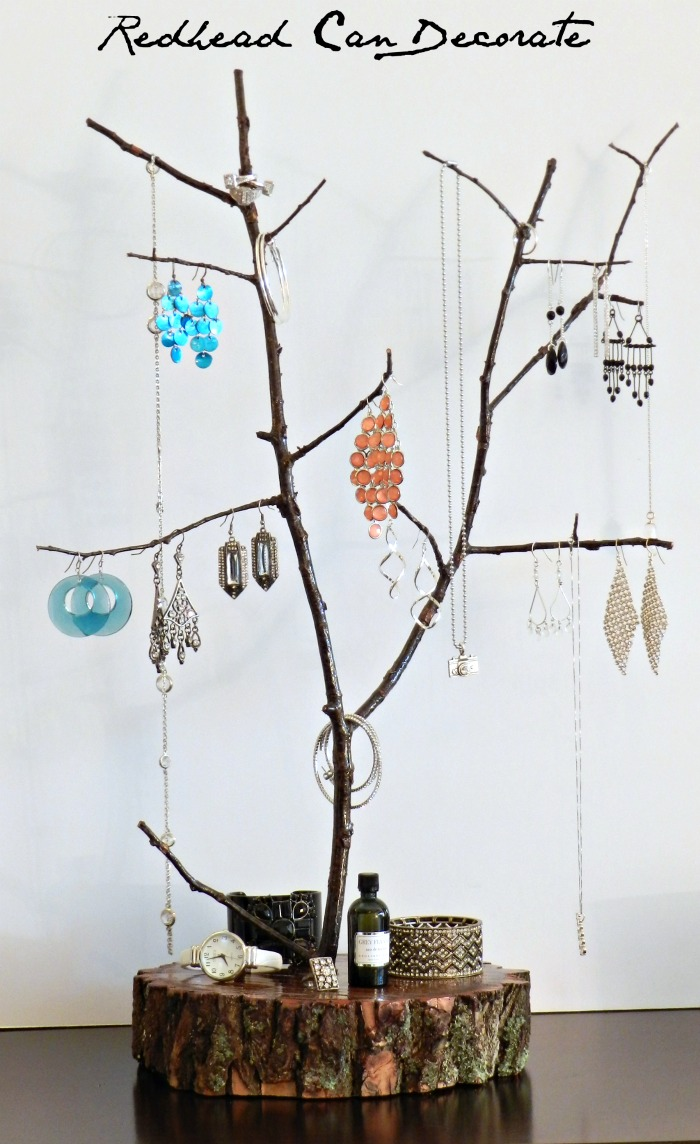 Tree Branch Jewelry Stand Redhead Can Decorate