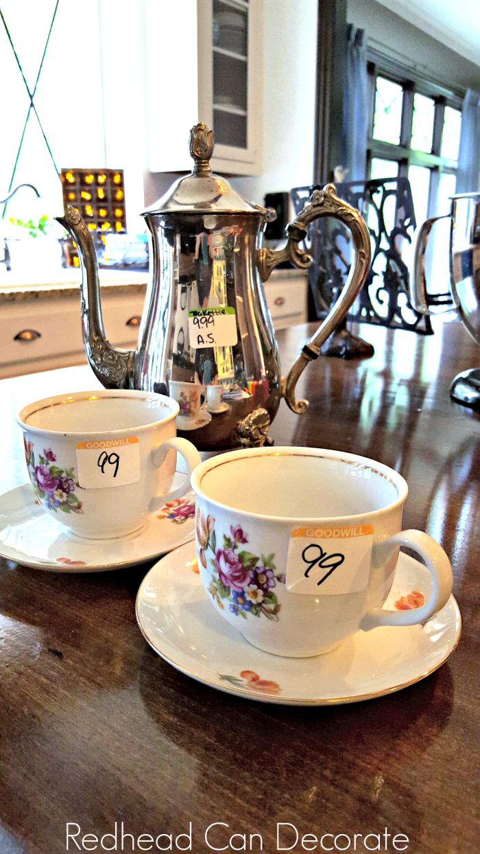 Tea Set Makeover