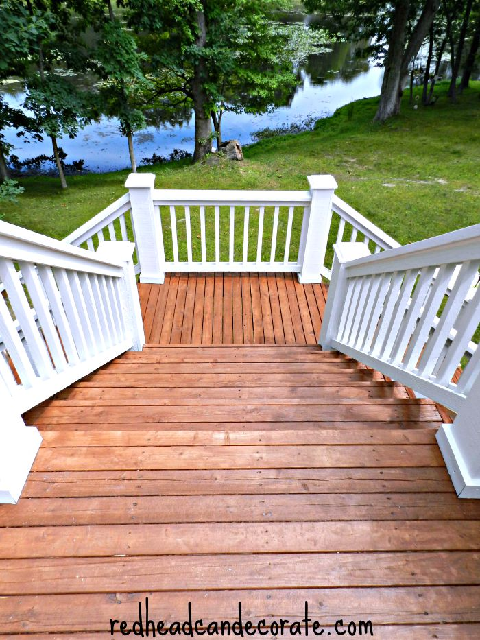 Thompson's WaterSeal Deck Makeover