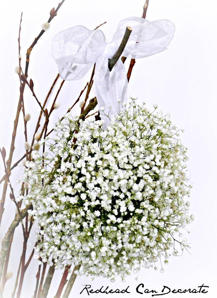 Baby's Breath Wedding Ball