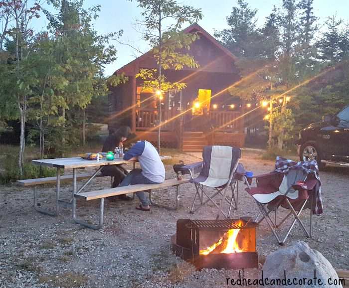 Mackinaw City Michigan Vacation Redhead Can Decorate