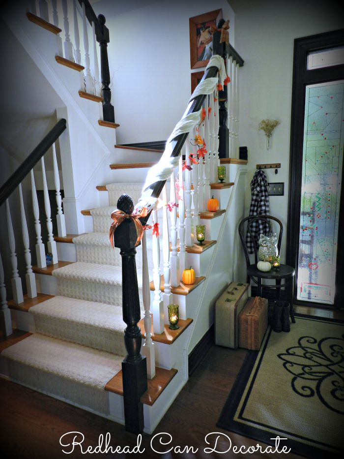 Easy Fall Stairs