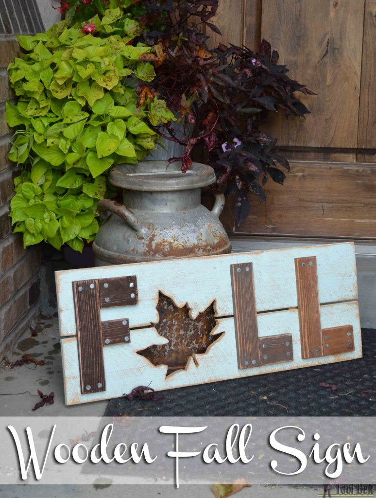 Wooden Fall Sign DIY Inspiration Monday Edition 927 Our