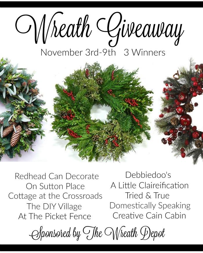 Best Best Best Wreath Giveaway
