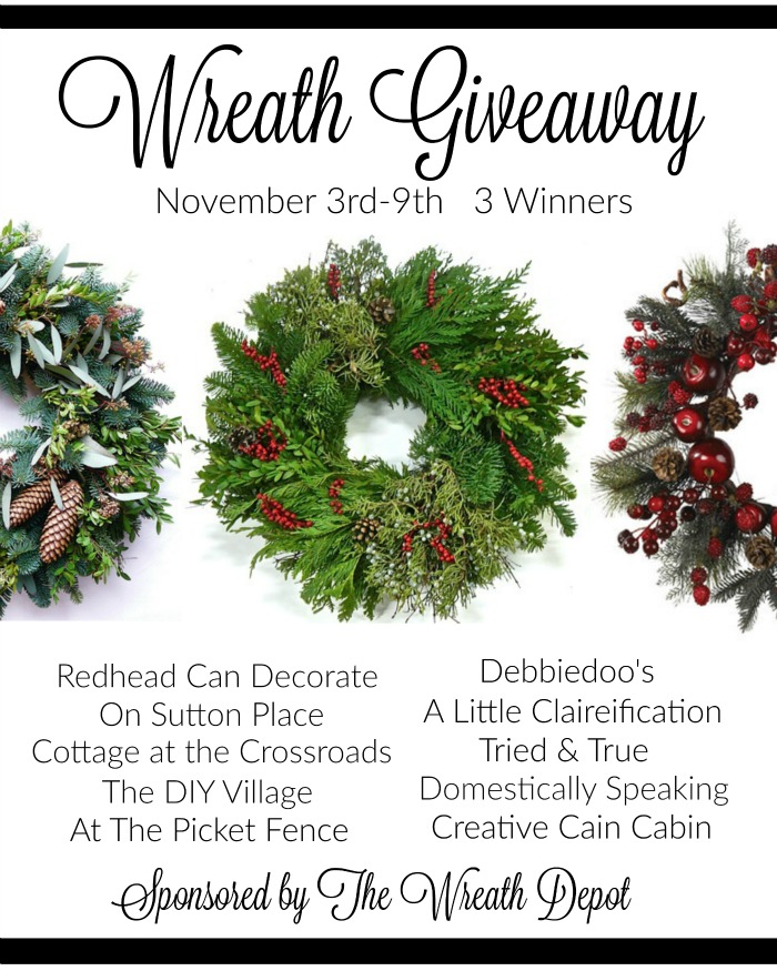 The Wreath Depot Giveaway 2015