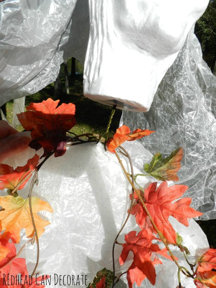 Wax Paper Halloween Bride Tutorial