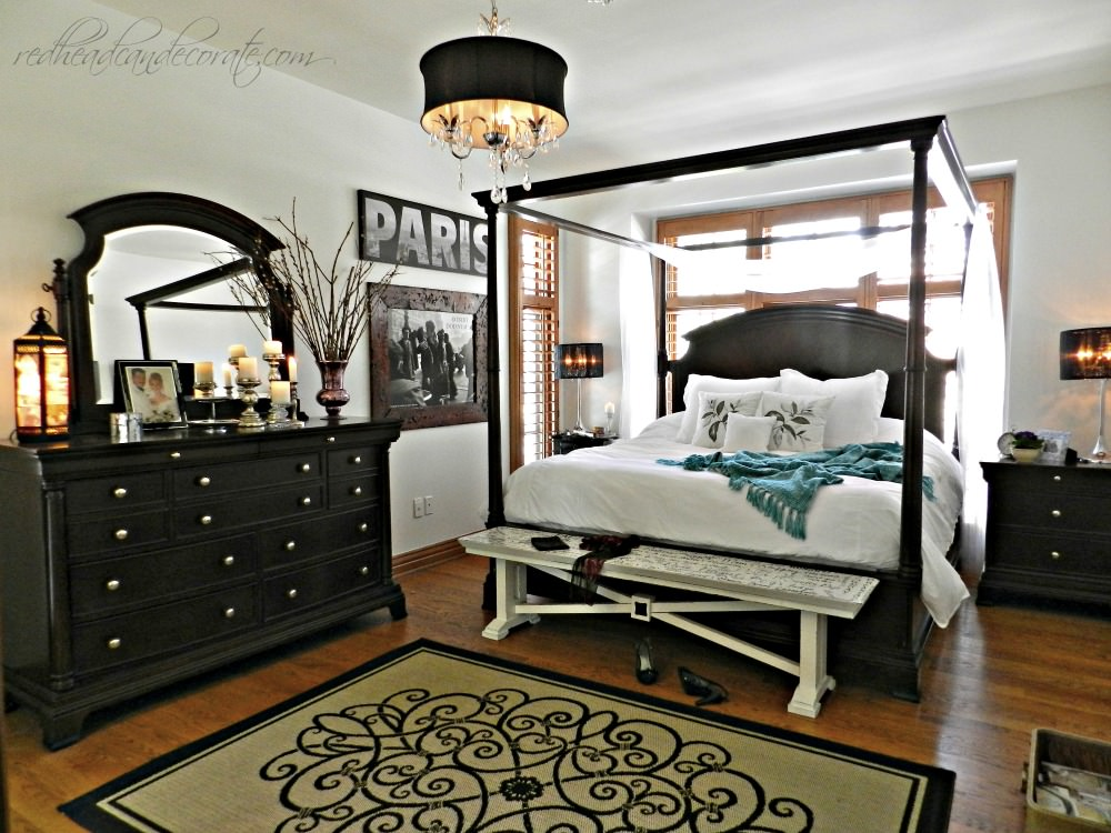 DIY Wood Planked Ceiling - Redhead Can Decorate on Makeup Bedroom  id=99602
