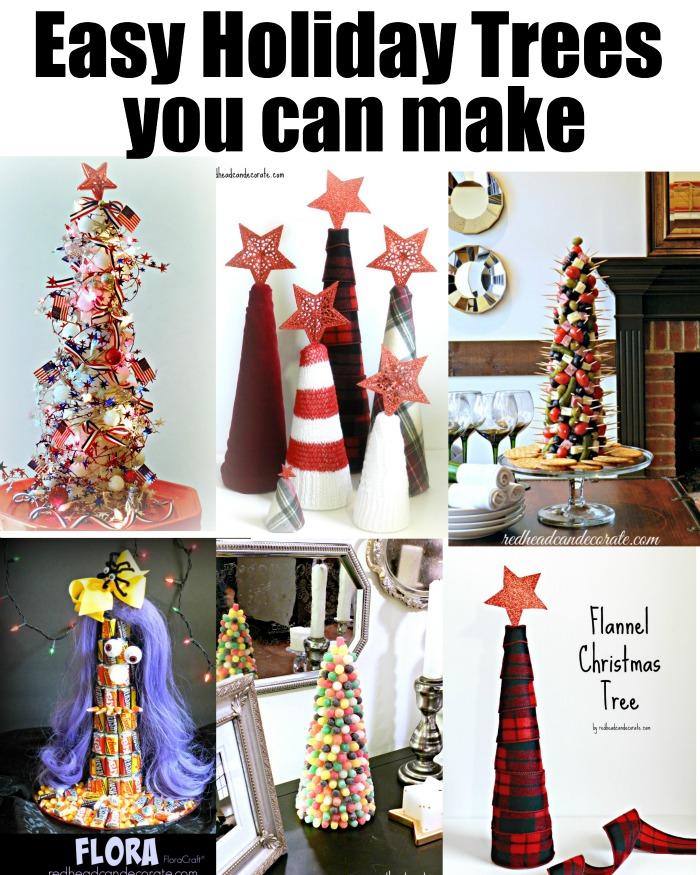 Easy Holiday Trees