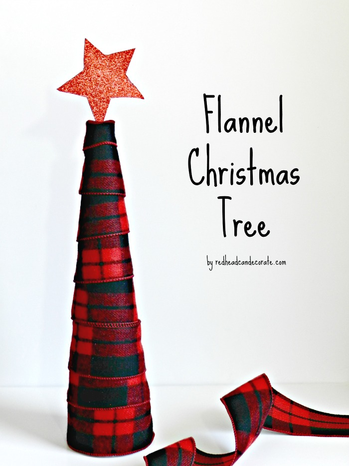 Flannel Christmas Tree