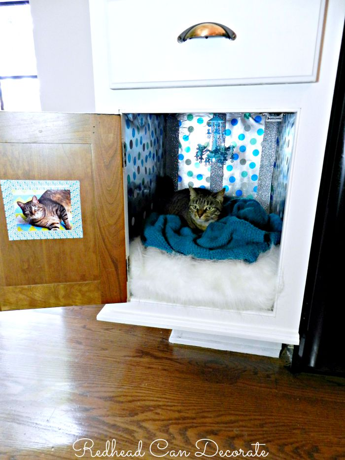 Kitty Cabinet Tutorial
