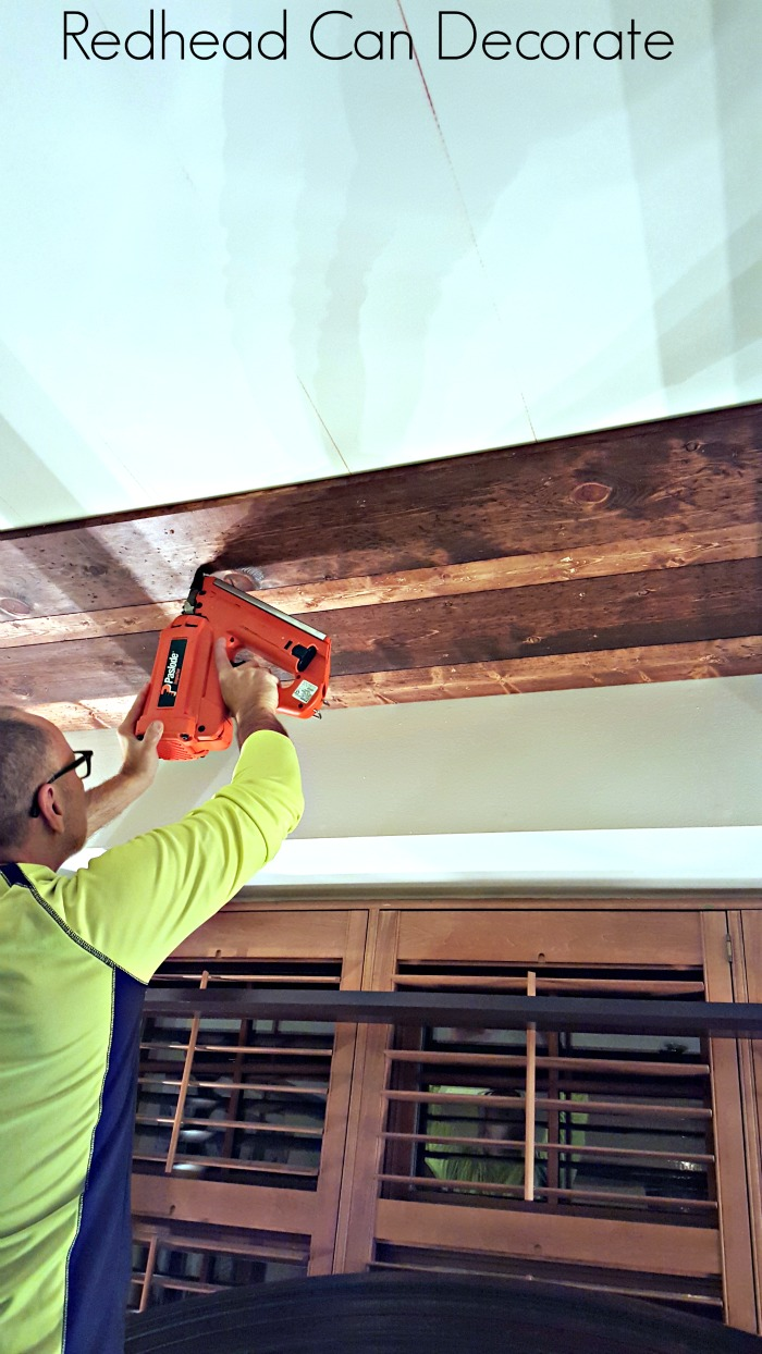 Planked Ceiling