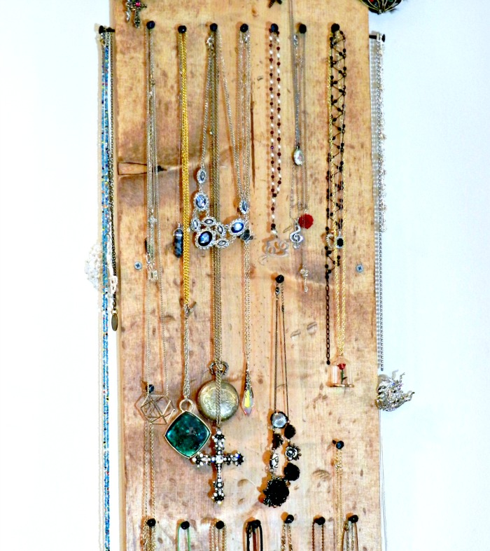 Rustic Jewelry Display