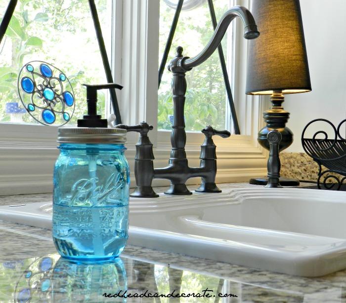 Ball Jar Hand Soap 2