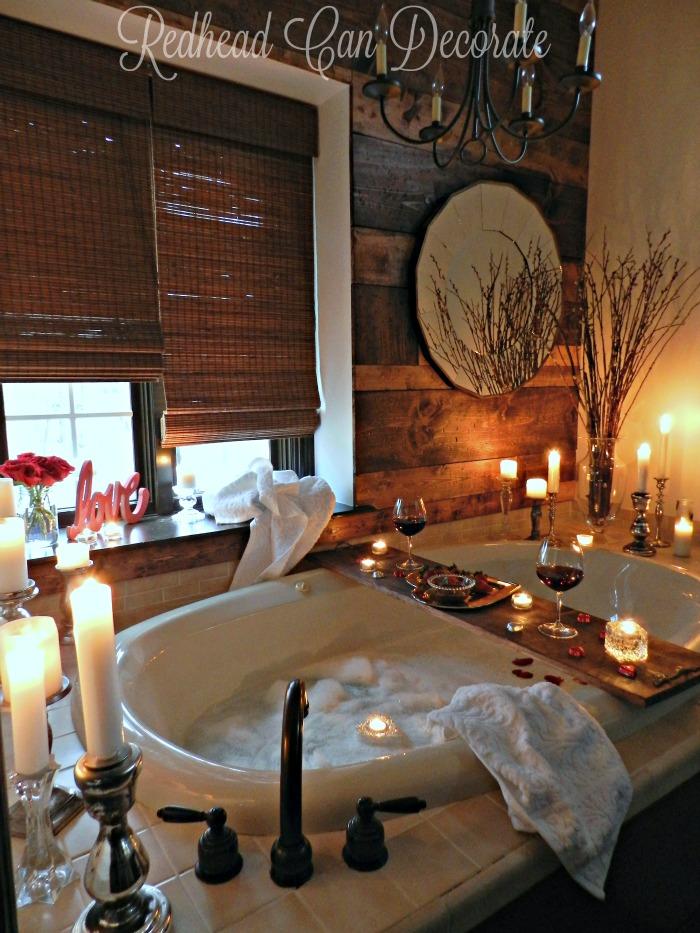 Romantic Bathroom Date Redhead Can Decorate