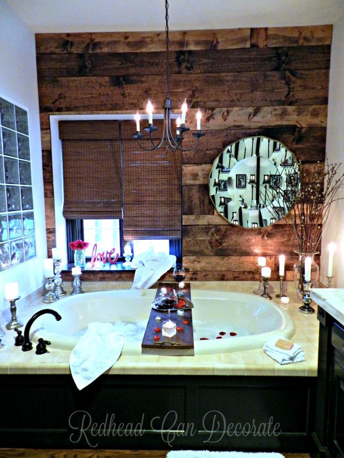 Romantic Bathroom Date