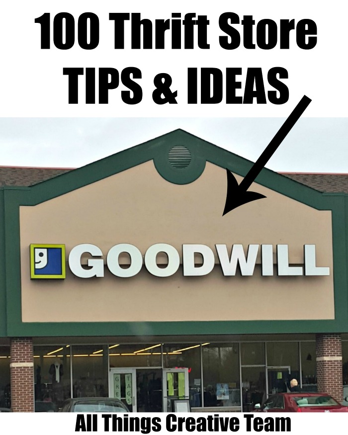 Thrift Store Tips & Ideas