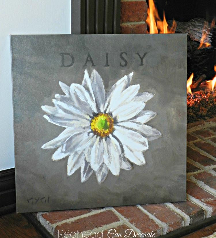 Daisy Painting