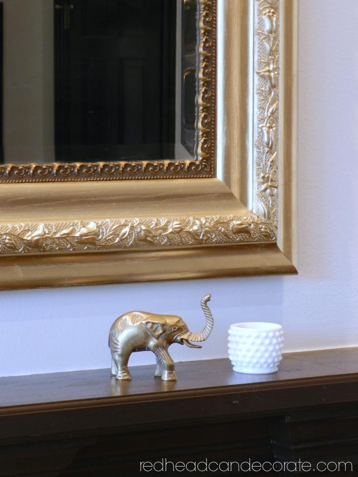 Thrifty Gold Mirror