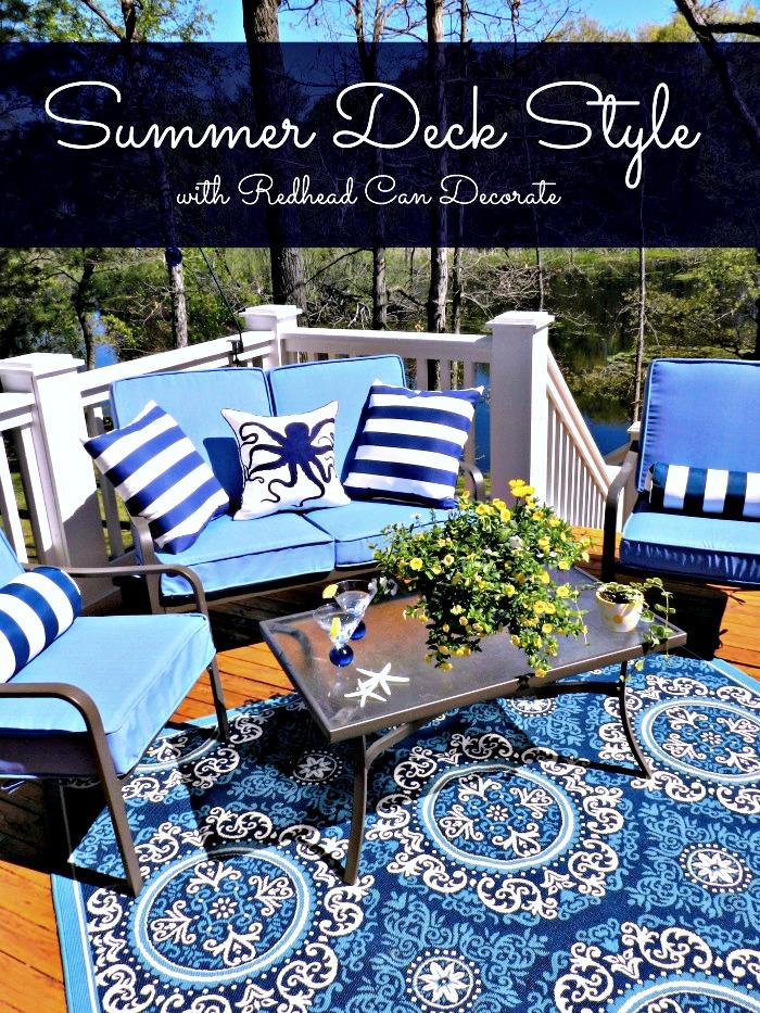 Summer Deck Styling