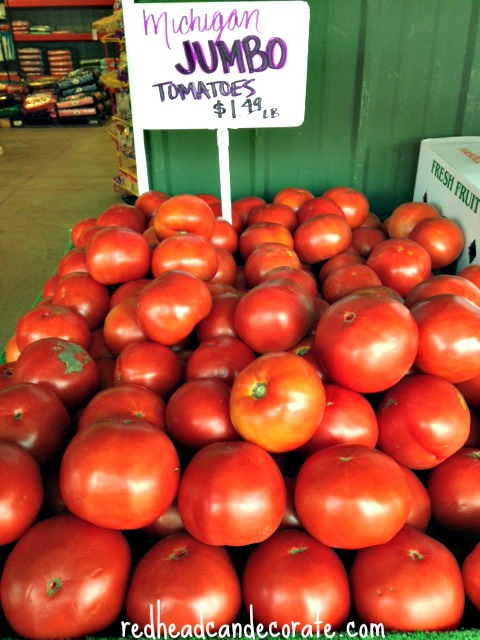 Michigan Tomatoes