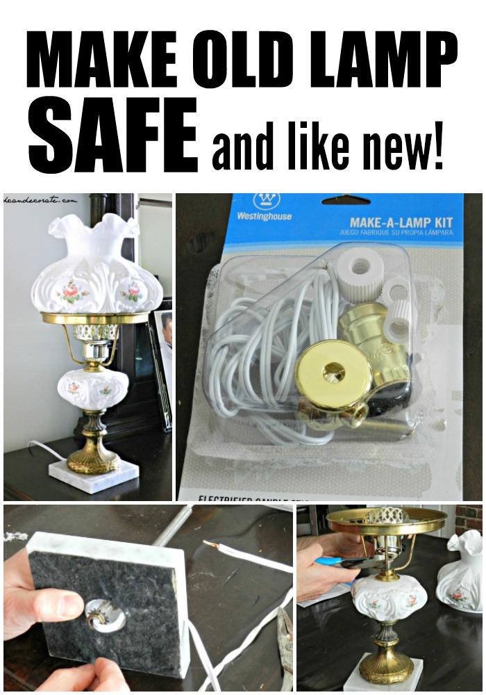 Make Old Lamp Safe!