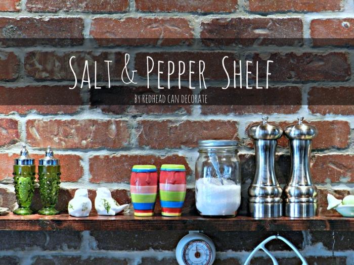 Salt & Pepper Shelf
