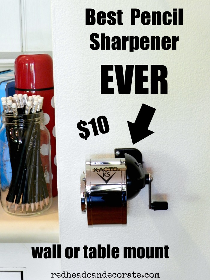 Best Pencil Sharpener Ever