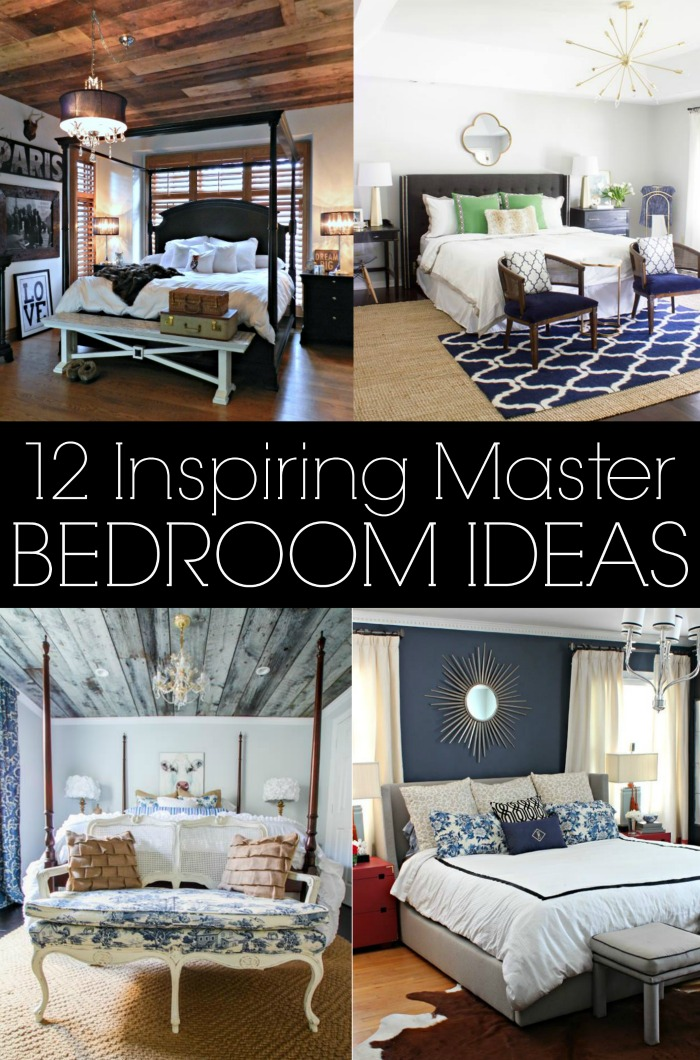 Decorate A Small Bedroom: 12 Inspiring Master Bedrooms