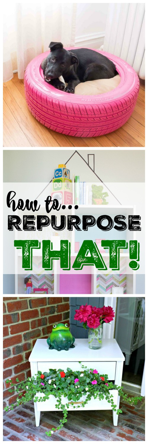 "These are the cutest ""Top 8 Repurposed Projects"" in blog land and you won't want to miss them!"
