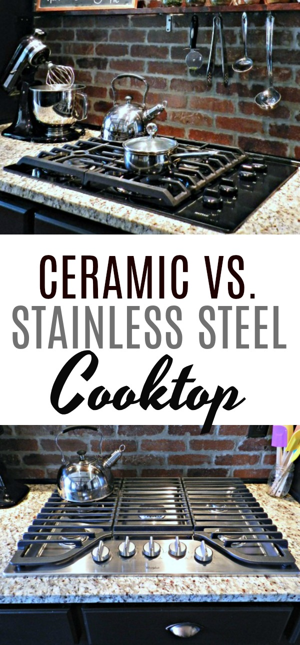 If you're ready to upgrade your old cooktop, this is a great post explaining which cooktop is easier to clean.