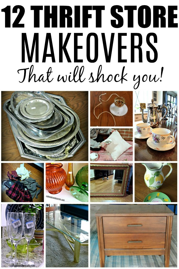 Here's 12 thrift store makeovers that will absolutely shock you! From Thrift store outfits to amazing home decorating ideas!